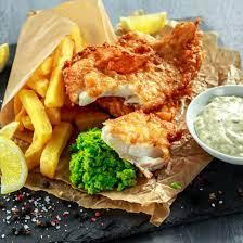 Fish&chips de cabillaud et sa sauce tartare & potatoes